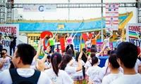 2017年连接越南青年活动热闹非凡