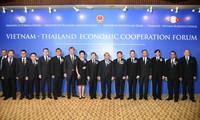阮春福会见泰国一流集团领导人