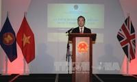 英国希望在脱欧后与越南推动贸易合作