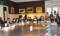 越南政府副总理王庭惠圆满结束对比利时和欧盟的访问行程