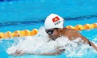 越南游泳运动员阮氏映圆夺2金 打破两项AIMAG 纪录