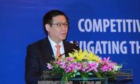 向外国驻越代表机构和国际组织通报2017年APEC领导人会议周结果