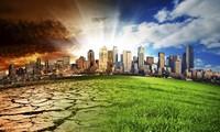 """""""一个星球""""气候行动融资峰会在巴黎举行"""