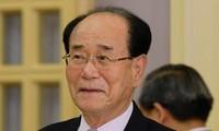 朝鲜最高人民会议常任委员会委员长金永南将出席俄罗斯2018年世界杯开幕式