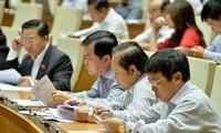 越南14届国会5次会议讨论《反腐败法修正案(草案)》