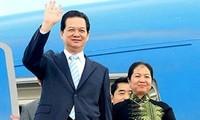 Premierminister Nguyen Tan Dung beginnt seinen Besuch in Myanmar