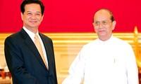 Verstärkte Zusammenarbeit: Premierminister beendet seinen Myanmar-Besuch