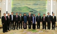 """Vize-Parlamentspräsidentin erklärt historische Hilfe aus China für """"wertvoll"""""""