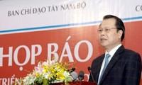 Konferenz über die Aufgaben der Provinzen im Mekong-Delta