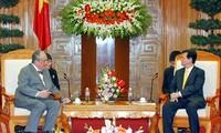 Chilenischer Präsident trifft in Ho Chi Minh Stadt ein