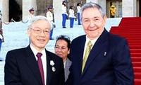 KPV-Generalsekretär Nguyen Phu Trong bedankt sich für herzlichen Empfang in Kuba