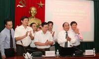 Veröffentlichung der Internetseite zur Korruptionsbekämpfung