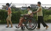 Der Verband der Agent-Orange-Opfer Vietnams besucht Südkorea