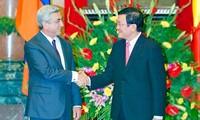 Armeniens Präsident beendet seinen Vietnambesuch