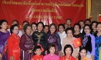 Vize-Staatspräsidentin Nguyen Thi Doan besucht Nahkhon Phanom
