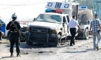 Eine Serie von Bombenanschlägen auf Sicherheitskräfte im Irak