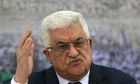 Palästinas Präsident Mahmoud Abbas besucht China
