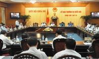 Sitzung des ständigen Parlamentsauschusses geht zu Ende
