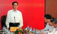 Premierminister trifft Verwalter der Provinz Quang Ngai