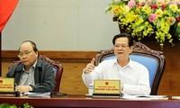Premier Nguyen Tan Dung fordert stärkere Maßnahmen im Kampf gegen den Taifun Haiyan