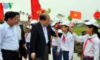 Parlamentspräsident beteiligt sich am Tag der nationalen Solidarität in Thai Binh