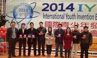 Vietnamesische Schüler gewinnen Preise bei IYIE 2014 in Taiwan