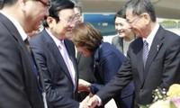 Staatspräsident besucht japanische Stadt Osaka