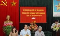 Vize-Premierminister Vu Van Ninh trifft Wähler in Nam Dinh