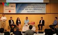 Treffen mit erfolgreichen vietnamesischen Unternehmern in Japan