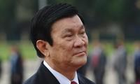 Staatspräsident Truong Tan Sang empfängt Premierminister der Republik Vanuatu
