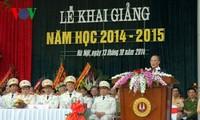Parlamentspräsident nimmt an Eröffnung des neuen Schuljahres bei der Polizeiakademie teil