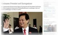 Premierminister Nguyen Tan Dung stattet den offiziellen Besuch in Deutschland ab