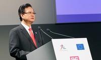 Der Premierminister nimmt an dem Asien-Europa-Unternehmenforum teil