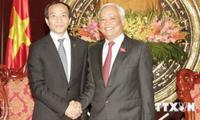 Vize-Parlamentspräsident Uong Chu Luu empfängt Vertreter des chinesischen Volksverbands für Frieden