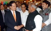 Tätigkeiten des Premierministers Nguyen Tan Dung in Indien
