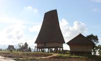 Das Rong-Haus der Minderheitsvolksgruppe Bana