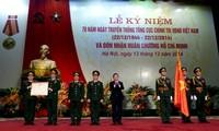 Staatspräsident Truong Tan Sang nimmt an der Feier der Politikabteilung der Armee teil