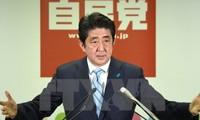 Shinzo Abe verflichtet sich zu einem neuen Japan