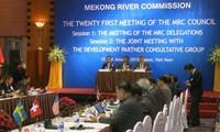 Eröffnung der 21. Sitzung des Mekong-Rates