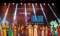 Eröffnung des Ao Dai-Festes in Ho Chi Minh Stadt