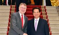 Premierminister Nguyen Tan Dung: Vietnam begrüßt EU-Unternehmen
