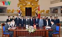 Vietnam und Südkorea unterzeichnen das Freihandelsabkommen