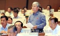 Abgeordnete diskutieren den geänderten Gesetzentwurf für Staatsrechnung