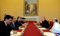 Vietnam und der Vatikan bereiten sich auf die Aufnahme diplomatischer Beziehungen vor