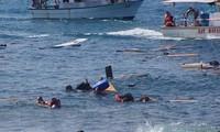Ein weiteres Schiff mit Flüchtlinge im Mittelmeer versunken