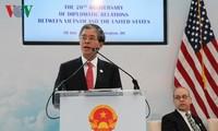 Feier zum 20. Jahrestag der Normalisierung der Vietnam-USA-Beziehung in Washington