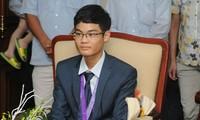 Vu Xuan Trung und seine Goldmedaille bei der Mathematik-Olympiade