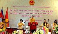Feierlichkeiten zum 70. Jahrestag der August-Revolution und des Nationalfeiertags im Ausland