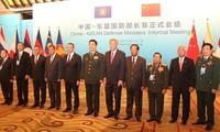 Verteidigungsminister Chinas und der ASEAN-Länder kommen zu einem inoffiziellen Treffen zusammen