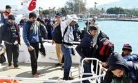 Türkei arbeitet mit Deutschland bei der Flüchtlingsfrage zusammen